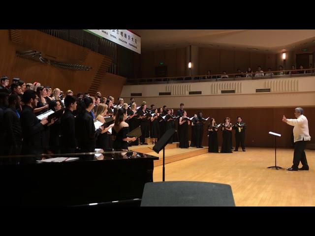 Leron, Leron Sinta  - World Youth Choir 2018, China