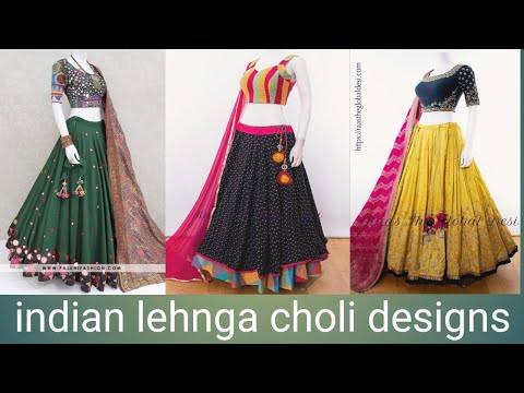 Stylish indian lehnga choli designs and combinition || whats in trend