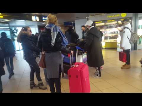 [170113][24K still with 24U Romania] Airport