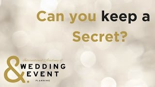 The Secret Life of a Wedding Planner