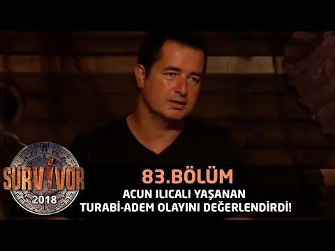 Acun Ilıcalı yaşanan Turabi-Adem olayını değerlendirdi! | 83. Bölüm | Survivor 2018