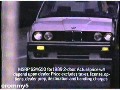 BMW I Commercial YouTube - Bmw 325i msrp
