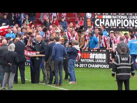 Lincoln City Champions 2016/2017