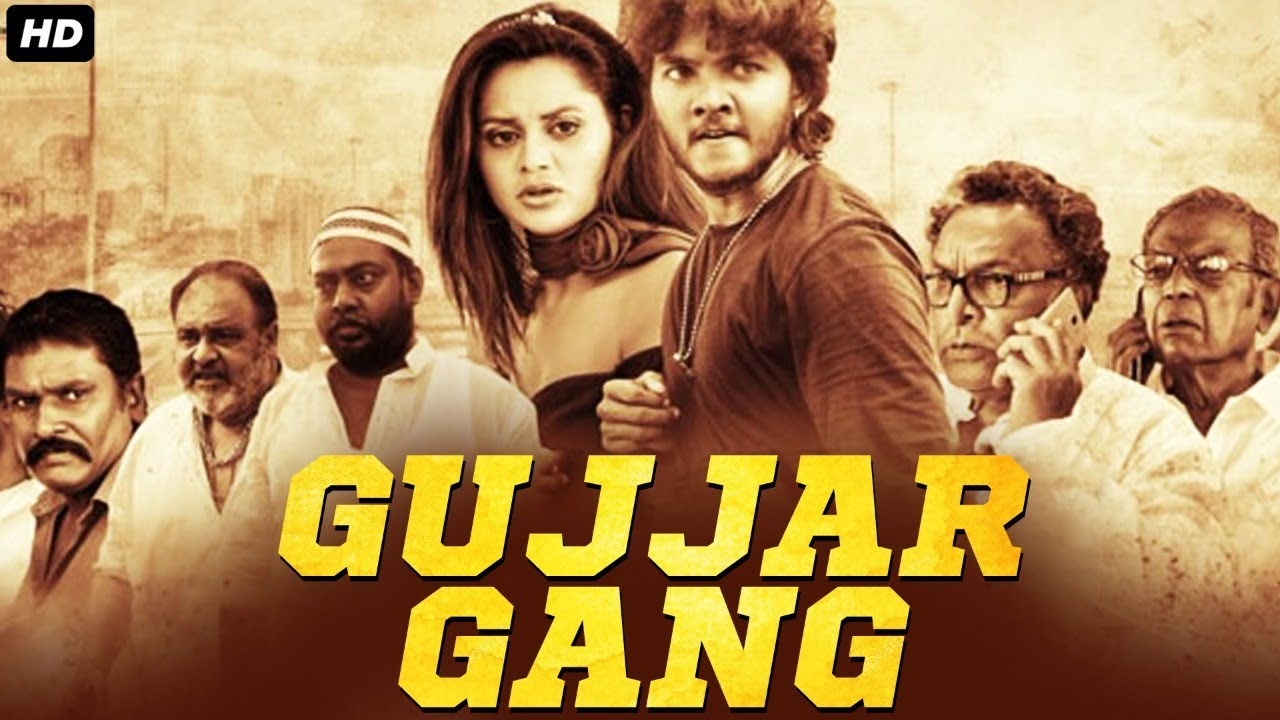 GUJJAR GANG - Superhit Hindi Dubbed Full Action Romantic Movie   South Indian Movies Dubbed In Hindi