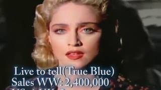 Madonna: Her Singles sales & Chart History Updated (1982 - 2015)