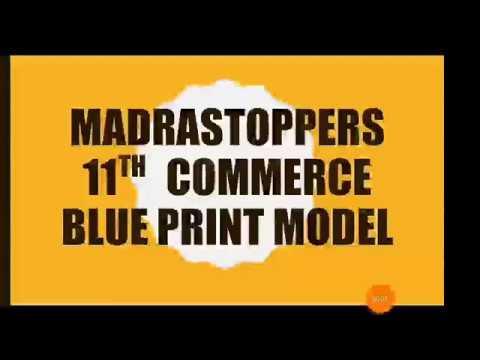 11th commerce govt model blueprint 2017 18 youtube 11th commerce govt model blueprint 2017 18 malvernweather Gallery