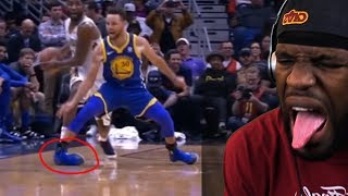STEPH CURRY INJURED!! (ANKLE ROLL) WARRIORS VS PELICANS 12.4.17 FULL GAME HIGHLIGHTS [REACTION]