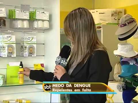 Alergoshop em reportagem sobre o surto da dengue ...