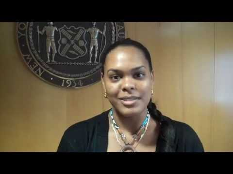 Get to know Evelisse! NYCHA's CUNY scholarship winner