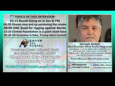 Jailtime for Clinton & Corrupt Politicians After Trump's in Office   Michael Rivero