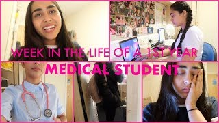 A WEEK IN THE LIFE OF A MEDICAL STUDENT (1ST YEAR)
