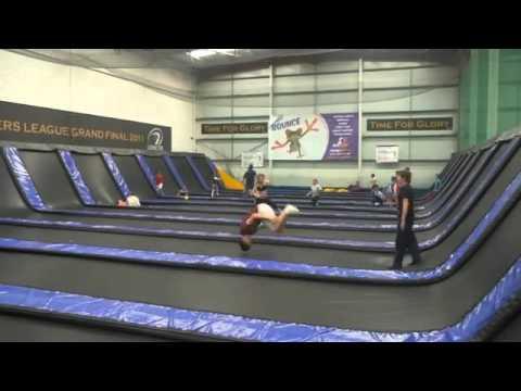 JUMP LANES, indoor trampoline park Limerick - YouTube
