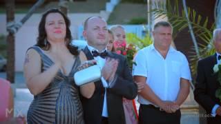 Восхитительно красивая свадьба - Денис и Ксения. Mix Studio 2014-2015