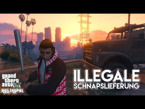» ILLEGALE SCHNAPSLIEFERUNG! « Big Business mit Kurtis Kush, GTALIFE Online