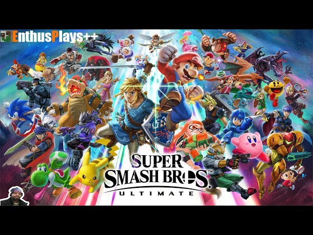 GameEnthus Crew Plays: Super Smash Bros. Ultimate (Switch) - EnthusPlays++