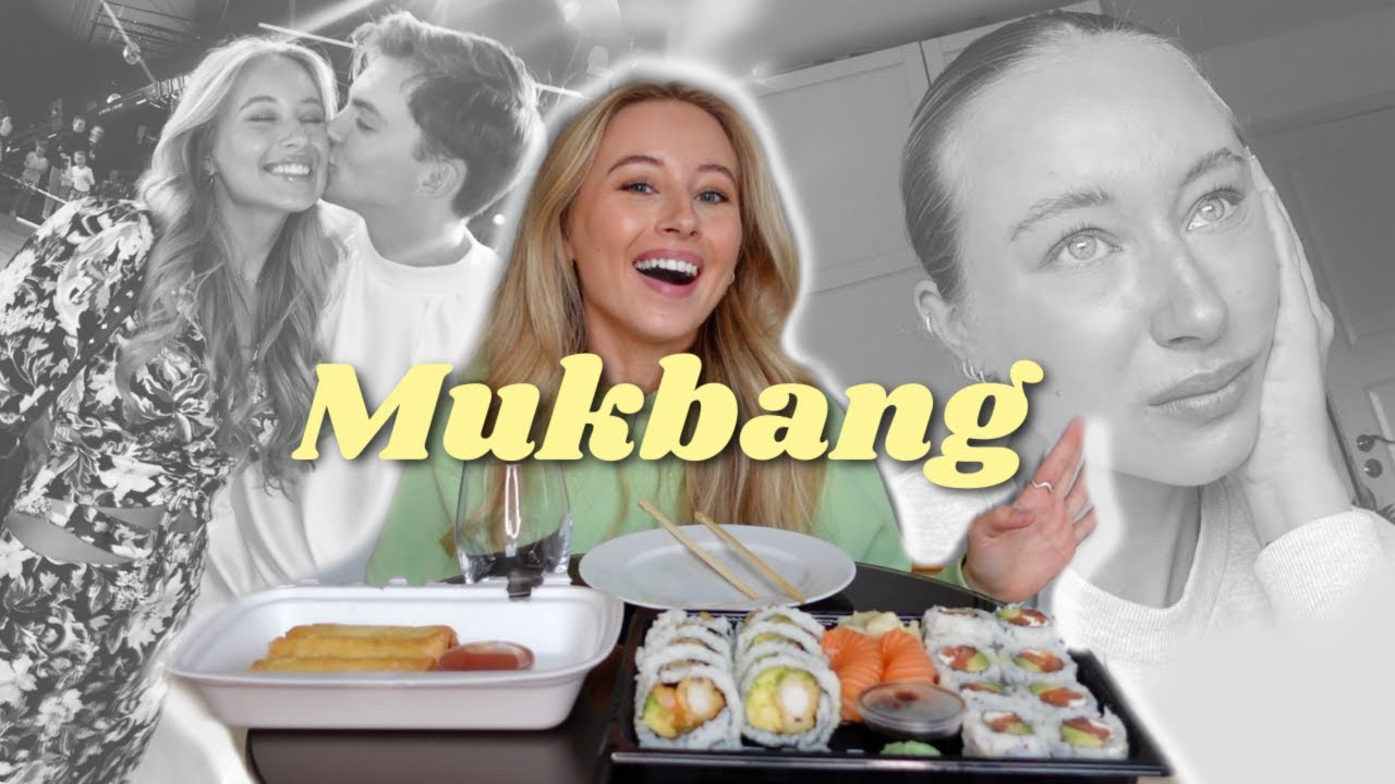 Download Jeg går til psykolog, flytta til Oslo? MUKBANG!👩❤️💋👨🍣😋