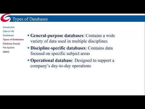 ACCC Database Design - Introduction (Unit 1)