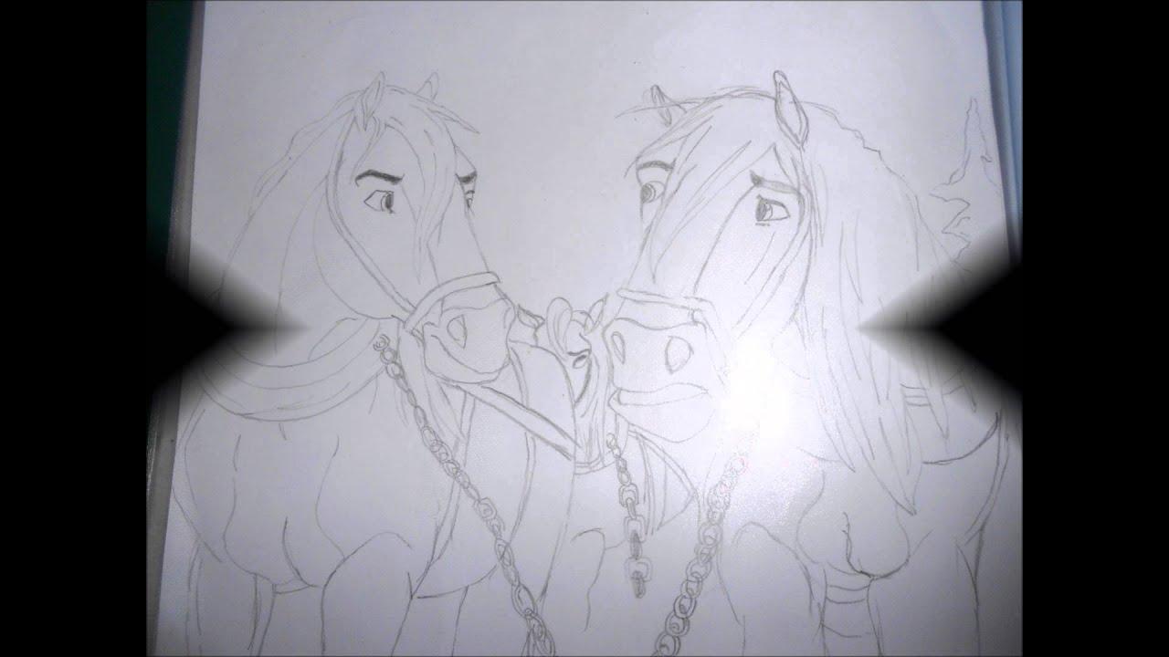 Il mio album da disegno sui cavalli youtube for Immagini di cavalli da disegnare