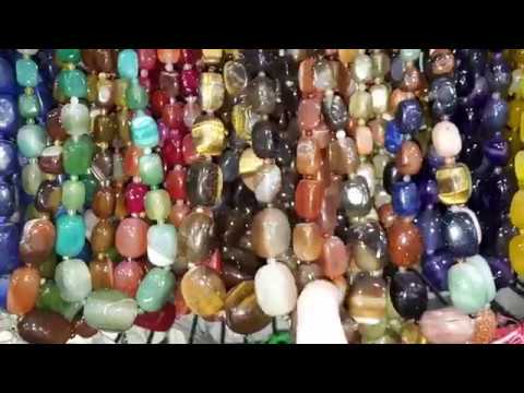 Кулоны Бусы натуральные камни видео со склада