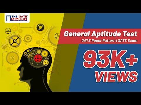 General Aptitude Test | GATE Paper Pattern | GATE Exam