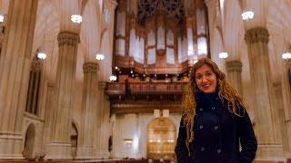 Loreto Aramendi Plays Bach Sinfonia From Cantata No. 29 | Saint Patrick's Cathedral Nyc