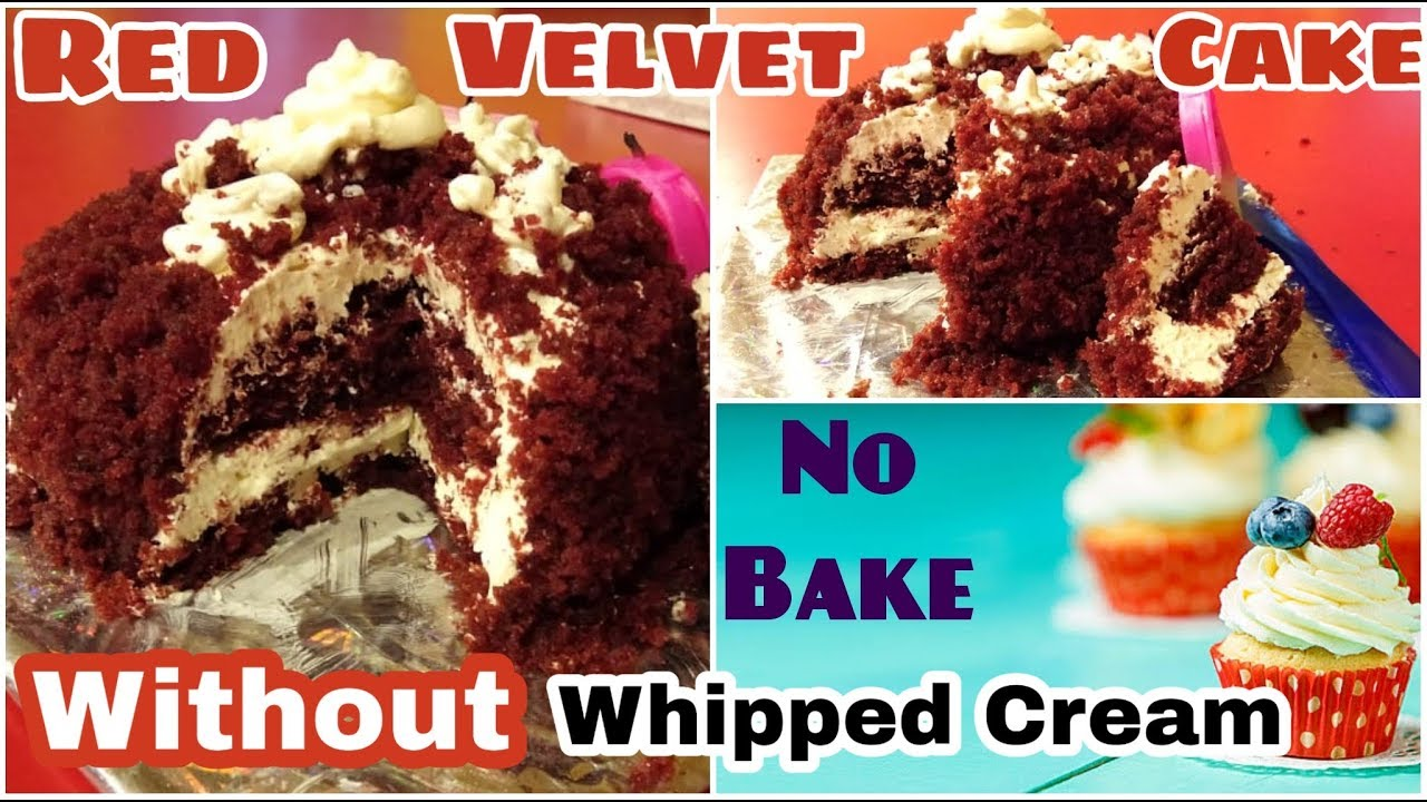 How to make Red- Velvet Cake at home |Without Oven ...