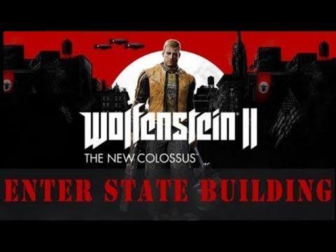 Wolfenstein Colossus Reach State Building