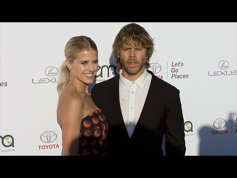 Sarah Wright and Eric Christian Olsen EMA's 27th Annual Awards Gala Green Carpet