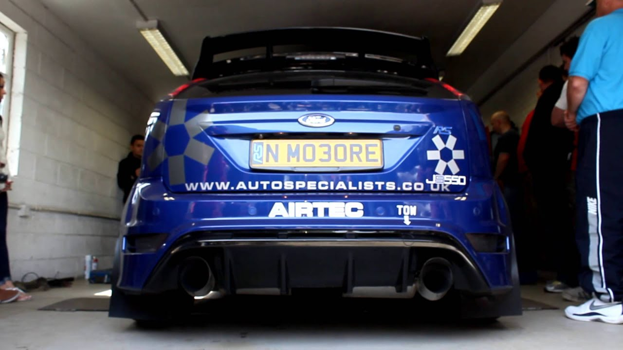 600bhp Ford Focus Rs Youtube