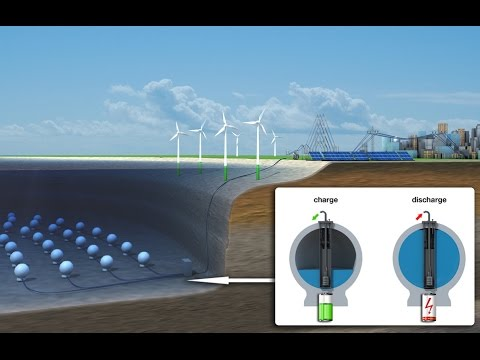 StEnSEA -  A new way of Storing Energy at Sea