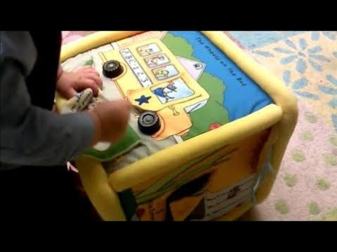 Quick Snippet Review: Together Tunes Soft Musical Cube Toy by Neurosmith with 6 Nursery Rhymes