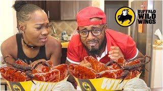 Scorpion Rum Wings Challenge | Extremely Hot 🦂🔥🦂