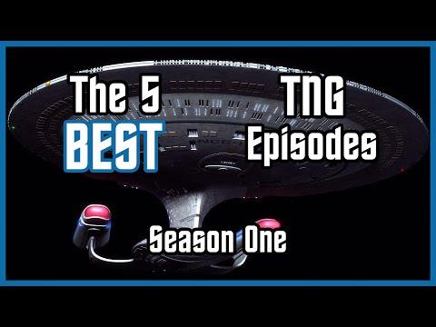 The 5 BEST Star Trek: TNG Episodes [Season 1]