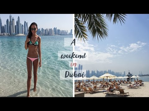 A Weekend in Dubai Fairmont The Palm | The Small Town Girl Vlogs