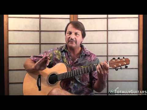 Black Water Free Guitar Lesson Doobie Brothers Youtube