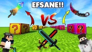 FORTUNİA VS FADE ŞANS BLOKLARI - Minecraft