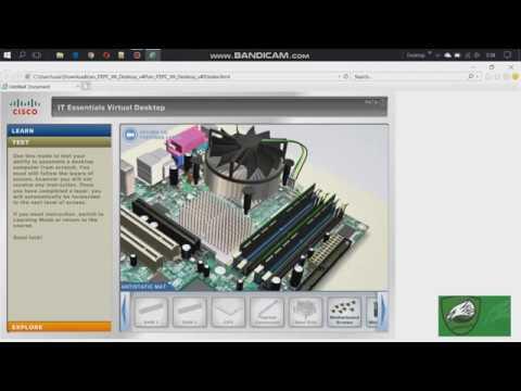 #Tutorial Merakit Komputer Menggunakan Cisco IT Essentials Virtual Desktop