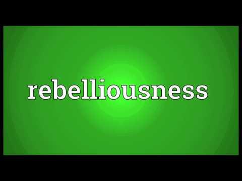 Header of rebelliousness