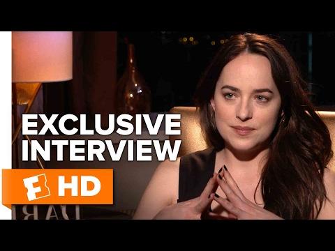 Dakota Johnson and Jamie Dornan Exclusive 'Fifty Shades Darker' Interview (2017)