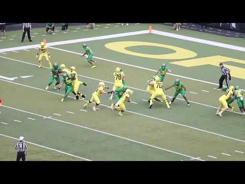 Oregon Ducks 2019 spring game highlights