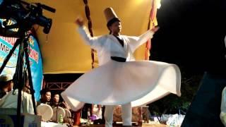 Tarian Sufi Santri kyai abah gus ali (gondrong)