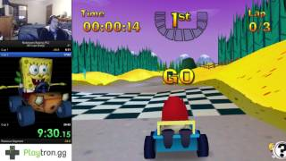 Nicktoons Racing (PC) All Cups (Easy) in 25:08