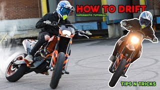 HOW TO DRIFT (SUPERMOTO) | Tutorial How To Powerslide