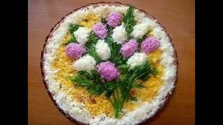 праздничное украшение блюд (презентация)