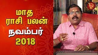 Maadha Rasi Palan (November Month) | Monthly Astrosign Predictions | Murugu Balamurugan