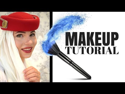 EMIRATES CABIN CREW MAKEUP TUTORIAL - CV / ASSESSMENT DAY  / TRAINING / WORK
