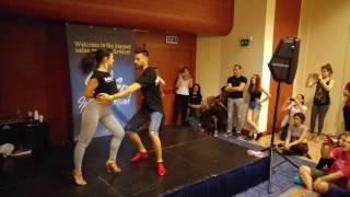 ⭐ Panagiotis and Myrto ⭐ Salsa Dance Partnerwork tutorial on2