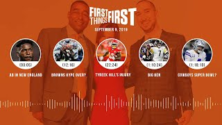 First Things First Audio Podcast(9.09.19) Cris Carter, Nick Wright, Jenna Wolfe | FIRST THINGS FIRST