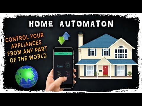 Home Automation NodeMcu ESP8266 | Arduino | Smartphone Controlled