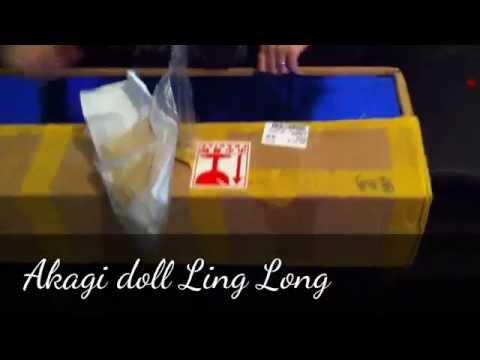 Unboxing Akagi doll Ling Long